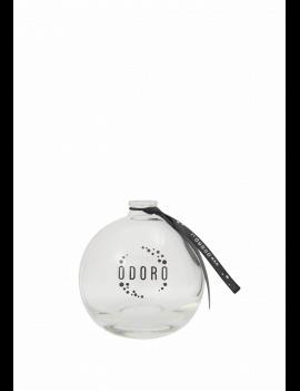Tuščias stiklinis ODORO buteliukas