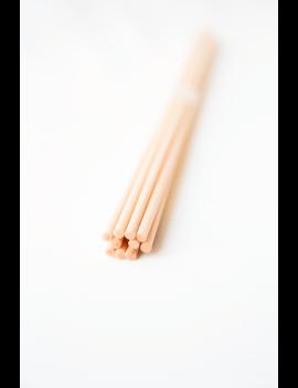 Lazdelės | Kreminės daugiapluoštės lazdelės 22 cm | 10 vnt