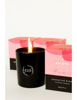 """Aromatinė žvakė ODORO MOOD """"Avietė"""""""
