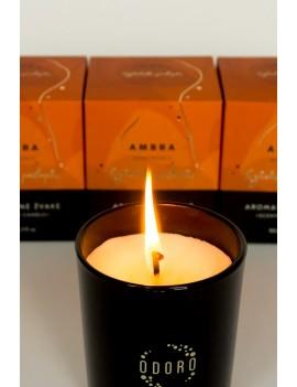"""Aromatinė žvakė ODORO MOOD """"Ambra"""""""