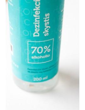 Dezinfekcinis skystis paviršiams alkoholio pagrindu (70%)