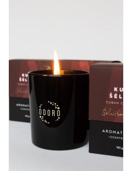 """Aromatinė žvakė ODORO MOOD """"Kubos šėlsmas"""""""