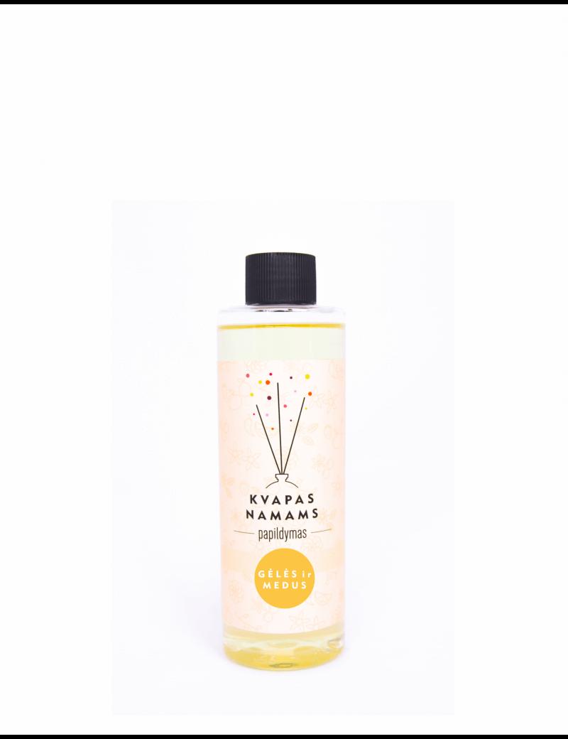 Gėlės ir medus | Namų kvapo papildymas 200 ml | Online