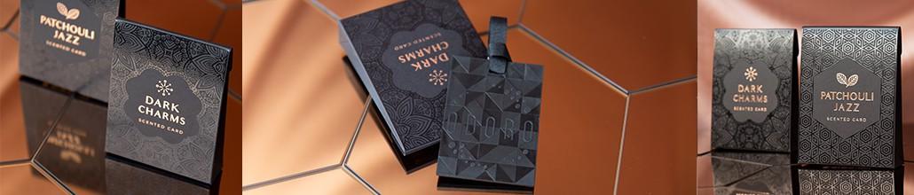 Aromatinė kortelė Bronze edition | ODORO.lt