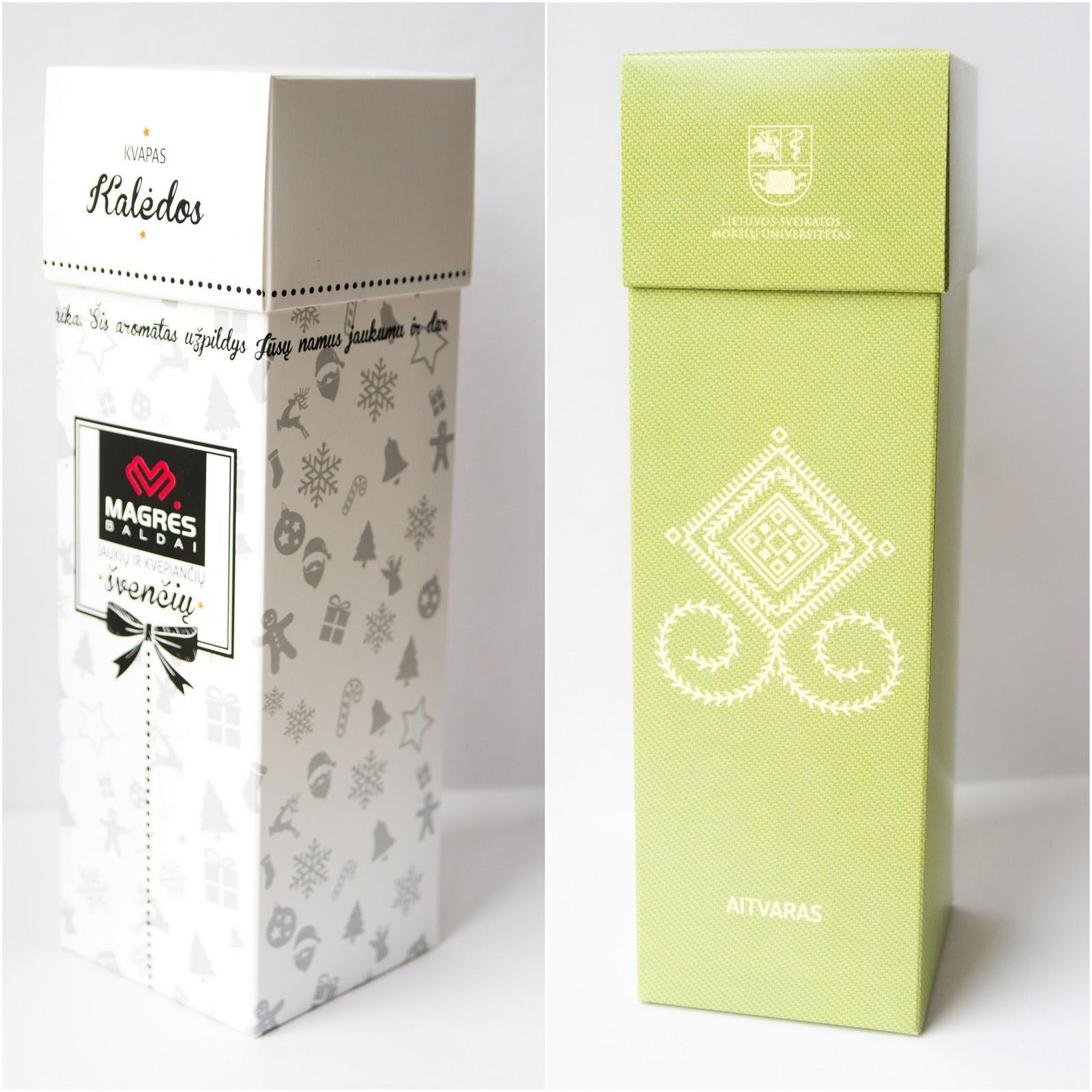 verslo dovana namu kvapas su pakuote
